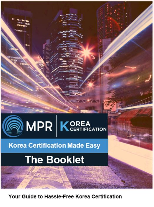 Korea-Certification-Booklet